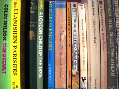 Bookshelf copyright Anne Wareham