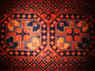 A rug copyright Anne Wareham